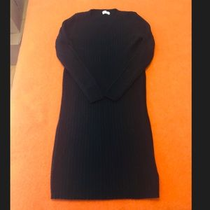 *3for$30* Gap black ribbed knit sweater dress GUC